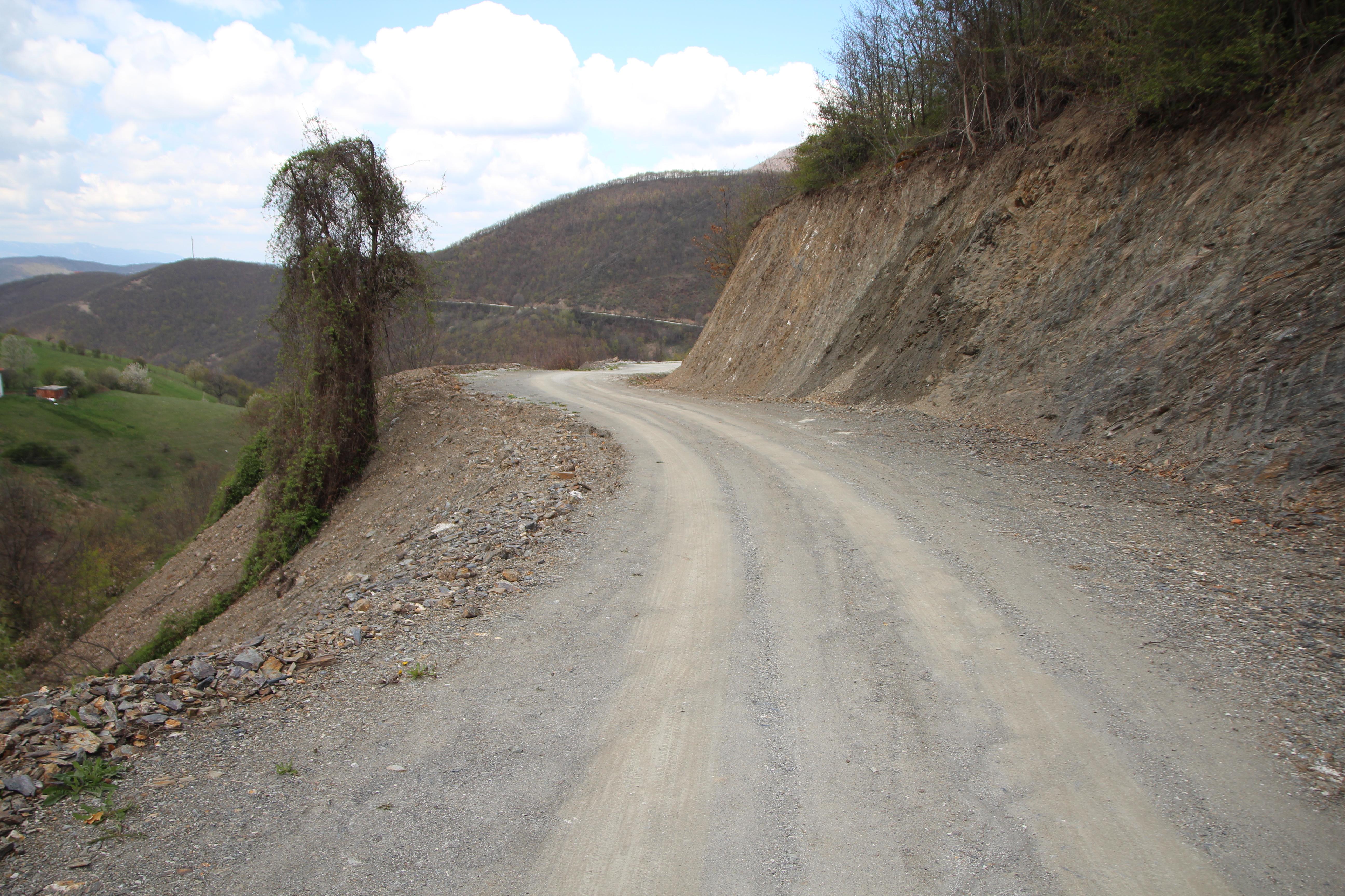 Rruga në fshatin Stantërg