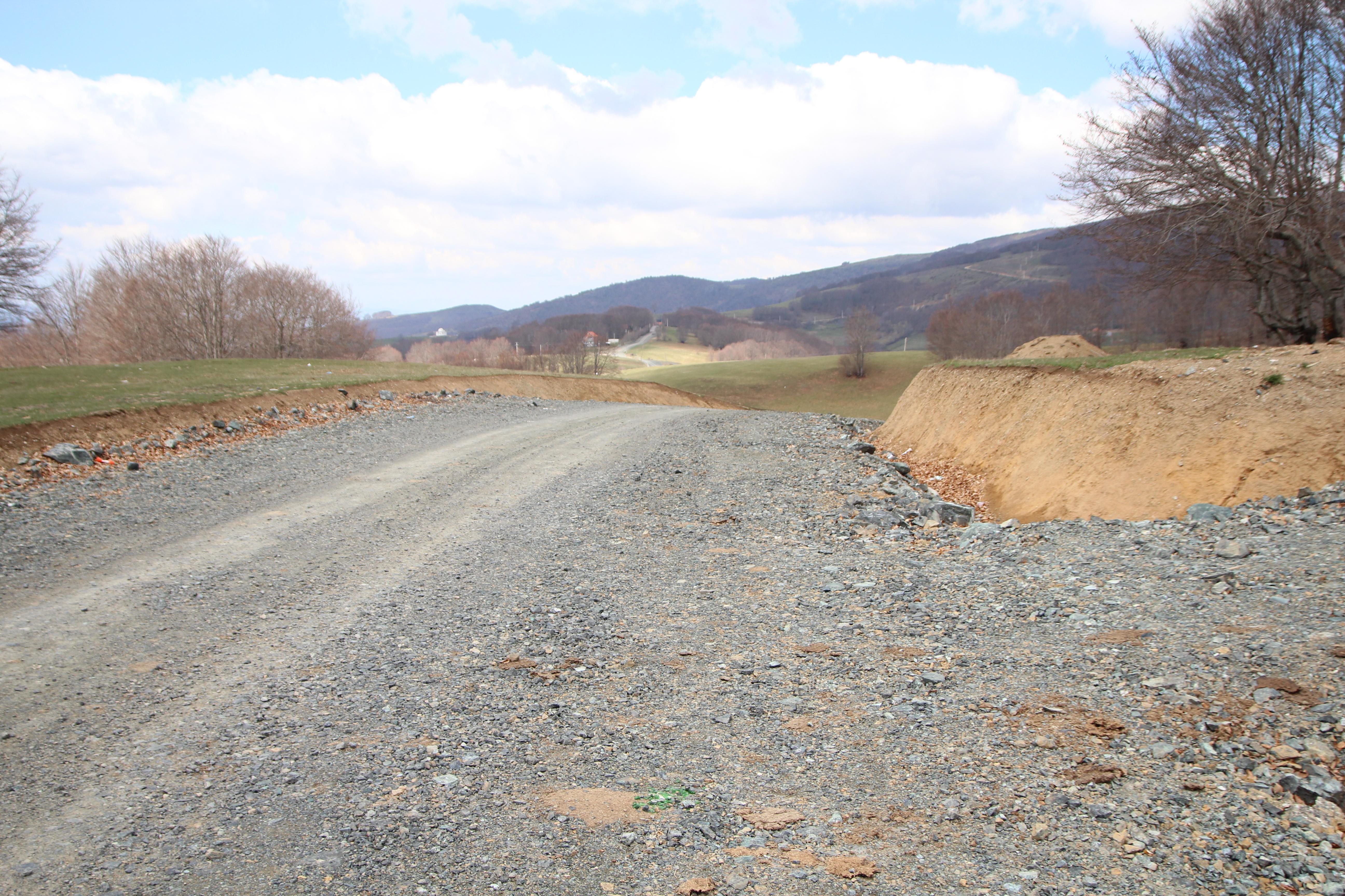 Rruga në fshatin Kovaçicë